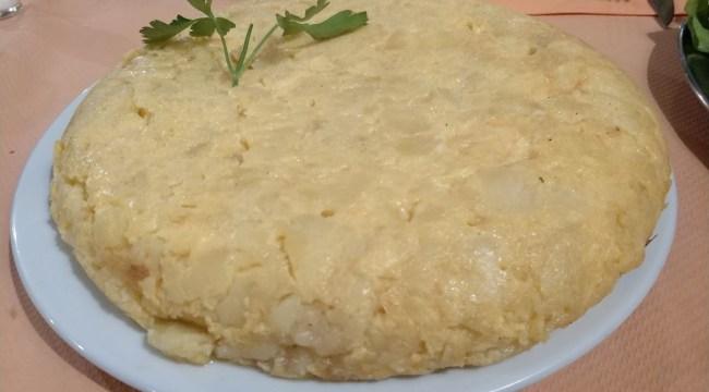 Tortilla de La Abuelita Vinoteca