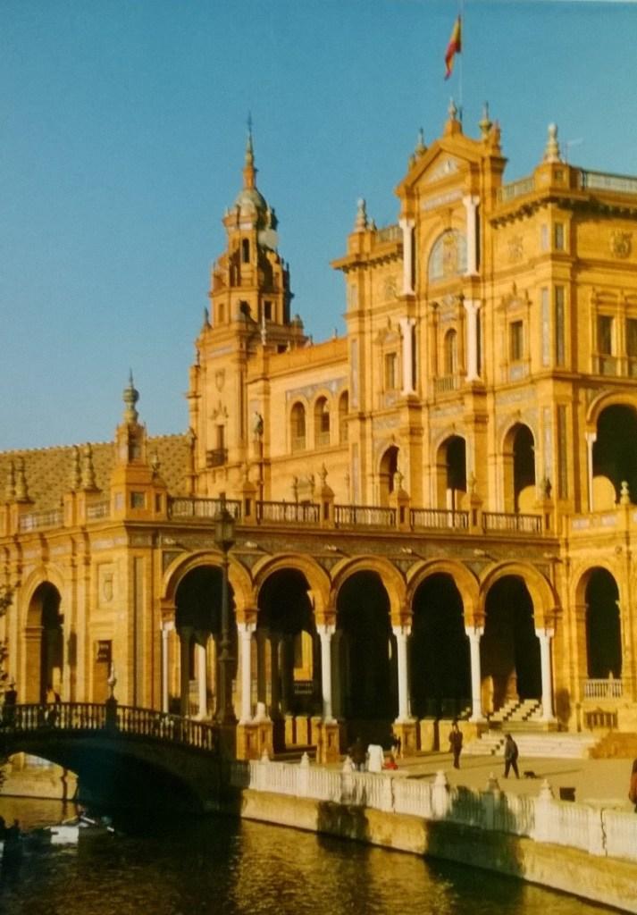 sevilla-1, plaza de Espana, Espanja, plaza, Sevilla