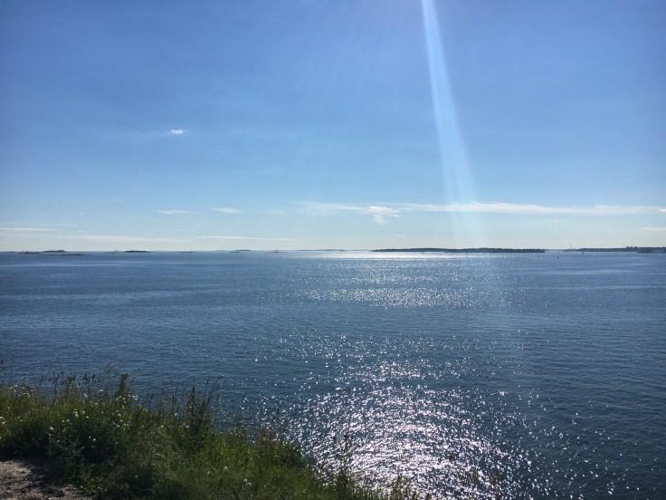 IMG_5589, Suomenlinna, kesä, meri, näköala, Vallisaari, Lonna, saarihyppely, visit Helsinki, world heritage, maailmanperintökohde
