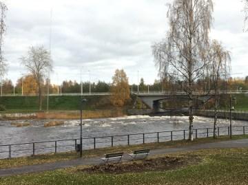 Oulujoki, joki, näköala, Oulu, Radisson