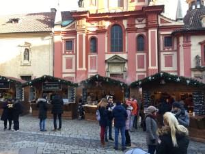 Prahan linna, joulutori, joulu, jouluvalot, Praha, Eurooppa, lasten kanssa, kaupunkiloma, talvi