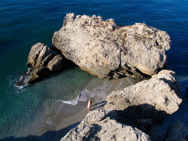 IMG_3601, Costa del Sol, Espanja, Nerja, rantaloma, hiekkaranta, lomamatka
