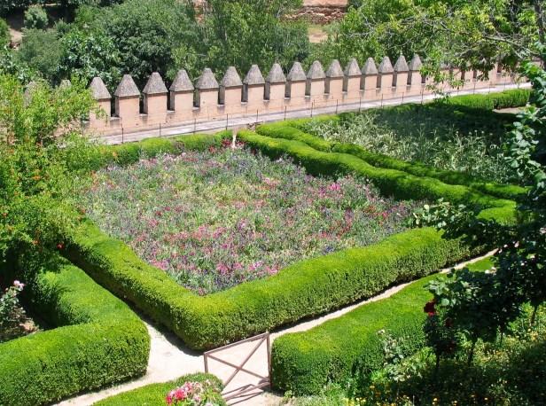 Kuninkaallinen puutarha, Alhambra, Granada, Espanja, Spain