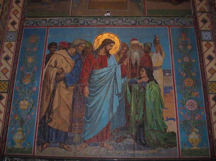 Mosaiikki, Kirkko veren päällä, Pietari, Venäjä