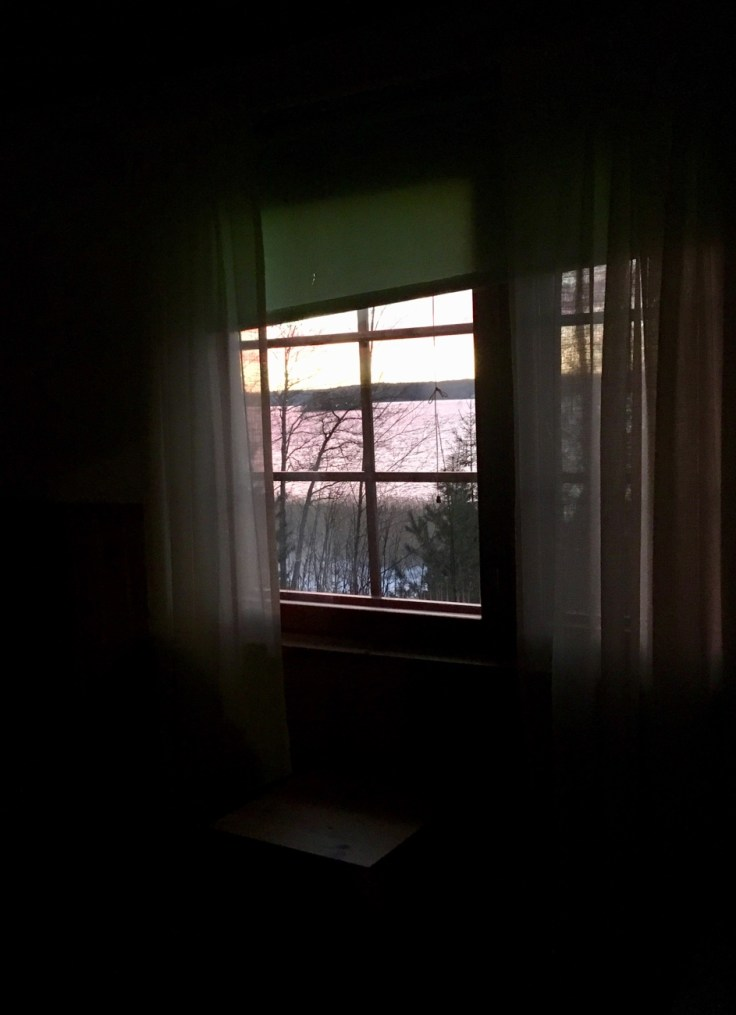 Sininen hetki, Särkisalo, saariston kauneus, talvi, auringonlasku, Visit Salo, Ylöstalon tila