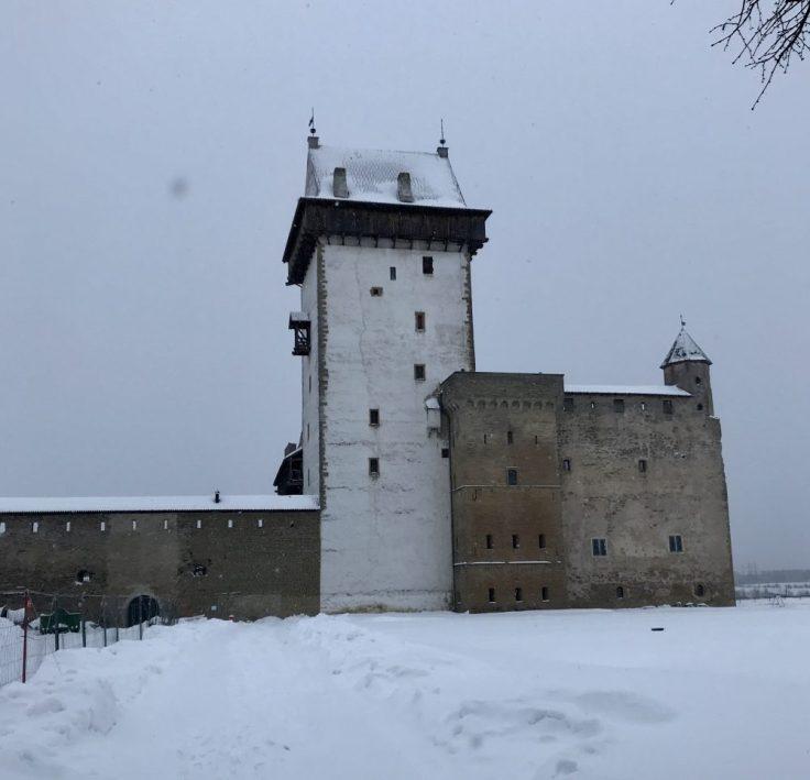 Pitkän Hermannin torni, Narva, Narvan linna, itä-Viro, Visit Estonia