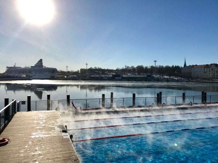 Allas Sea Pool, Helsinki, Visit Helsinki, kylpylä, uiminen