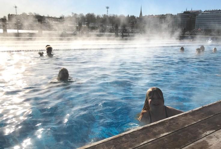 Allas Sea Pool, Helsinki, Visit Helsinki, kylpylä, merikylpylä, yleinen sauna
