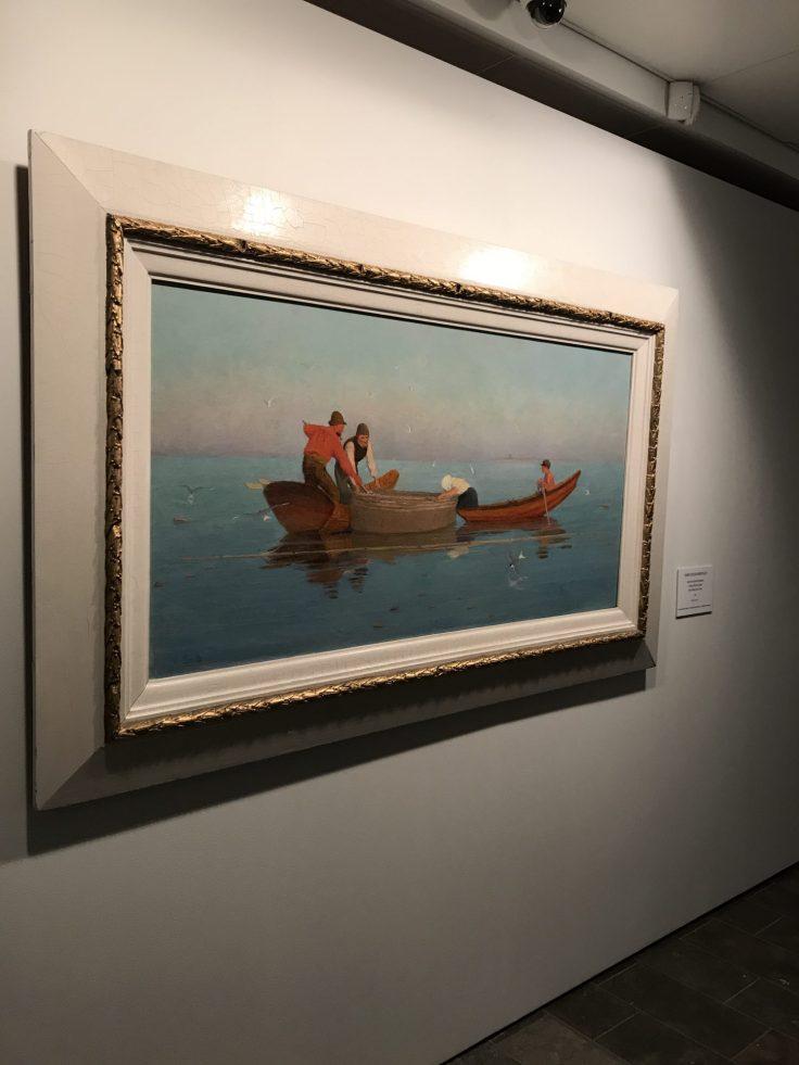 Järvenpään taidemuseo, Iso rysä, Venny Soldan-Brofeldt, Sadejuovia ja pilvisäteitä