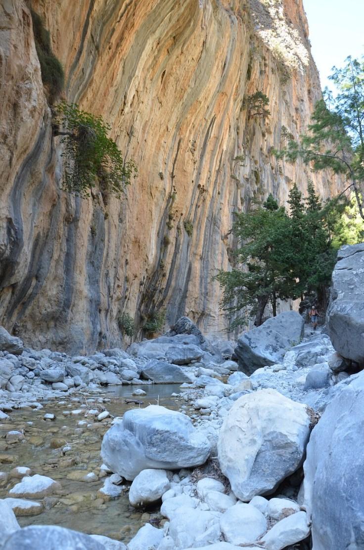 Kreeta, Samarian rotko, kansallispuisto, vaellus, Eurooppa