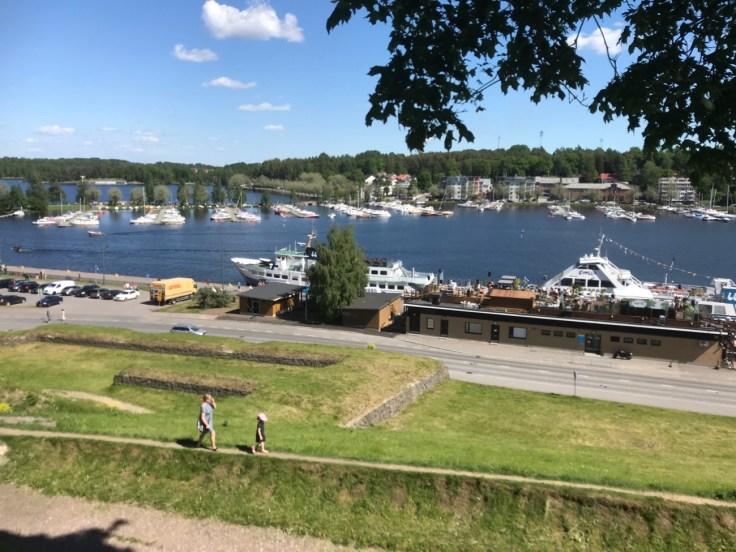 Majurska, kahvila, lomalla kotimaassa, Lappeenranta, linnoitus, näköala
