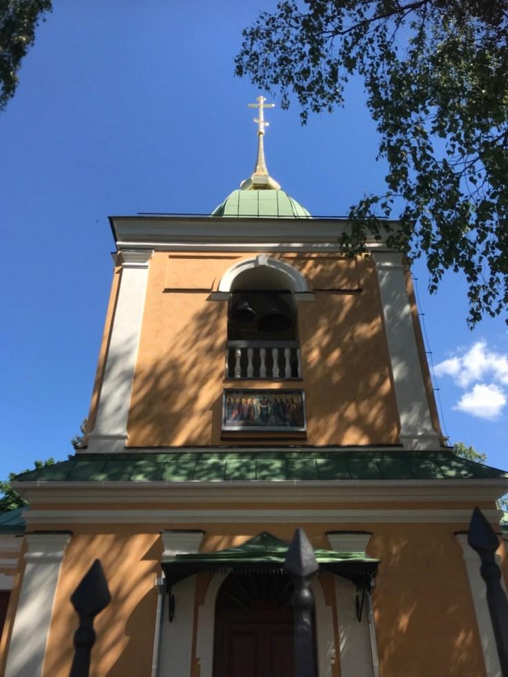 Lappeenranta, ortodoksinen kirkko, linnoitus, lomalla kotimaassa, 1700-luku, historia, venäläinen historia