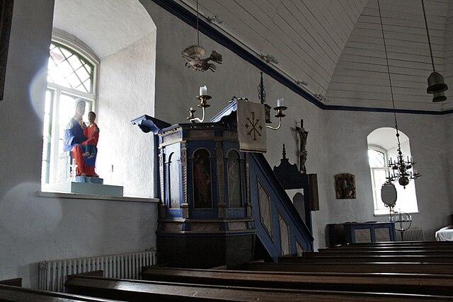 Kökar, keskiaikainen kirkko, Visit Åland, Ahvenanmaa, lomalla kotimaassa, Suomi