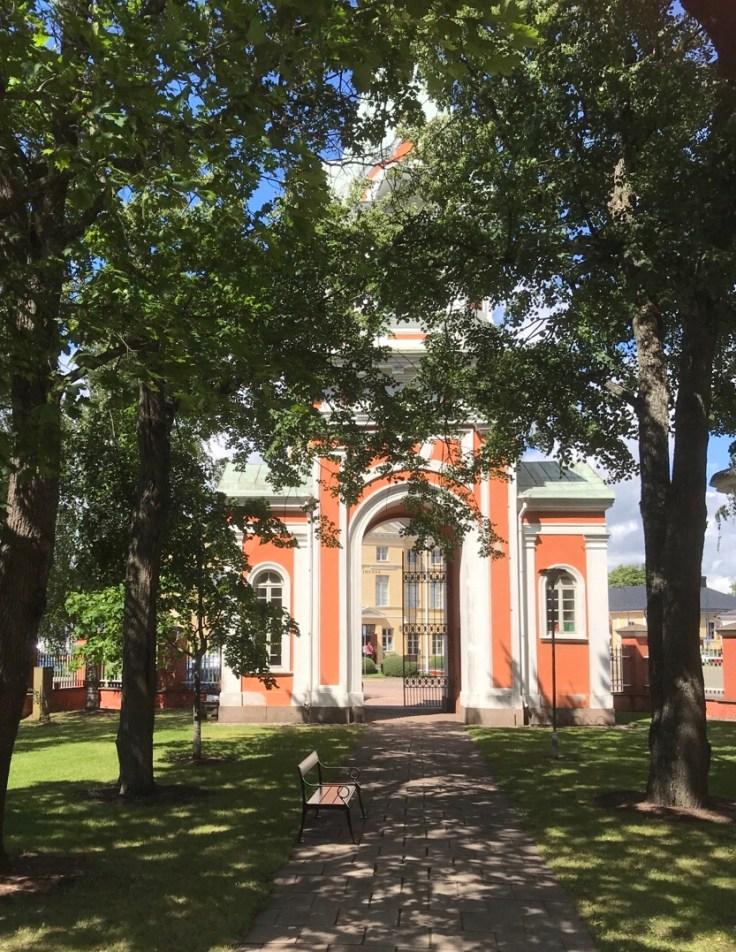 Hamina, Pietarin ja Paavalin kirkko, Visit Kotka-Hamina, ortodoksinen kirkko