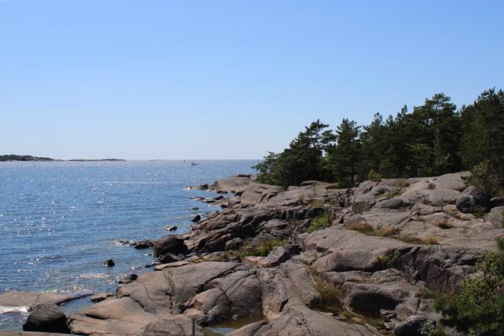 Hanko, Itämeri, luontopolku, kalliot, eteläinen kärki, Hanko