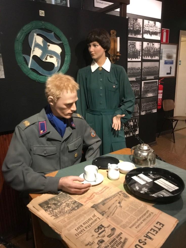 RUK, museo, Hamina, Visit Kotka-Hamina, reserviupseerikoulu