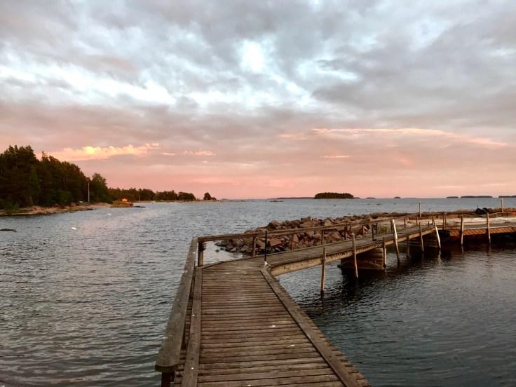 Hamina, Vimpasaari, meri, kesäloma, kotimaan kohde, lomalla kotimaassa