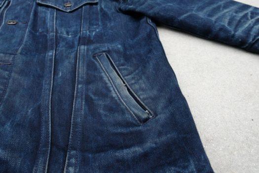 Most wear near handwarmer pockets