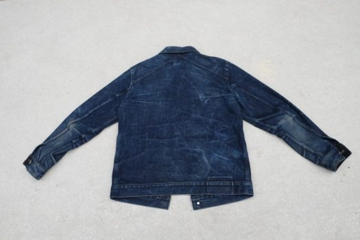Back View of 3sixteen Type 3s Jacket