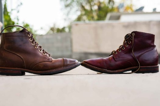 Viberg Natural Chromexcel vs Color 8 Chromexcel