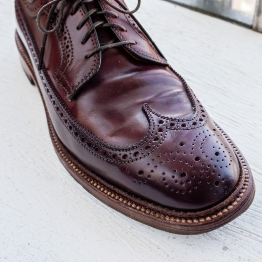 Alden x The Bureau Belfast Color 8 Shell Cordovan Longwing