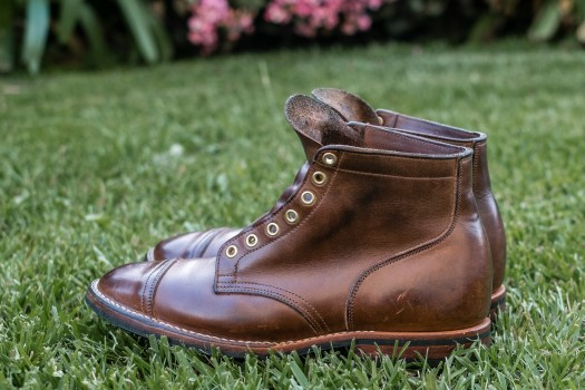 Viberg Natural Chromexecel Service Boot at 3 years