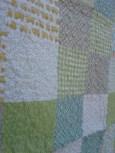 June quilt close up