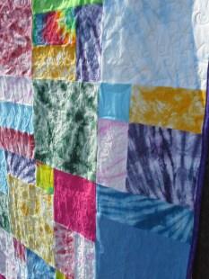 April quilt close up