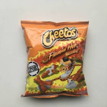 Cheetos Crunchy Flamin' Hot (35g)