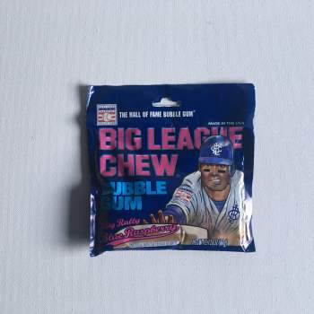 Big League Chew Bubble Gum Blue Raspberry 12 pack from Auntie Ammies Candy Shop