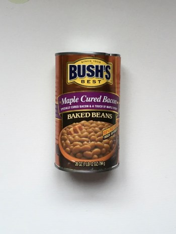 Bush Maple Cured Bacon flavoured Baked Beans from Auntie Ammies candy shop