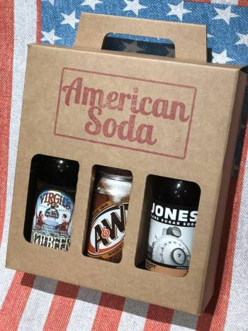 Root Beer Soda Box From Auntie Ammies Candy Shop