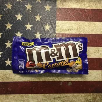 M&Ms Caramel 40g from Auntie Ammies Candy Shop