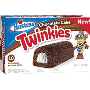 Chocolate cake Twinkies from auntie Ammies Candy Shop