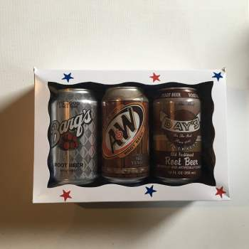 Root Beer Soda Gift Box from Auntie ammies american Candy Shop