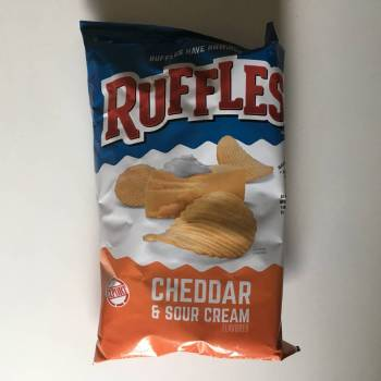 Ruffles Cheddar & Sour Cream (184g) From Auntie Ammie Candy Shop