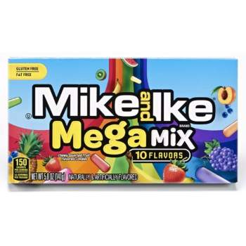 Mike & Ike - Mega Mix Theatre Box 5oz (141g) from Auntie Ammies American Candy Shop