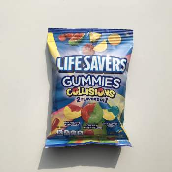 Lifesavers Gummies Collisions 198g from Auntie Ammie American Candy Shop