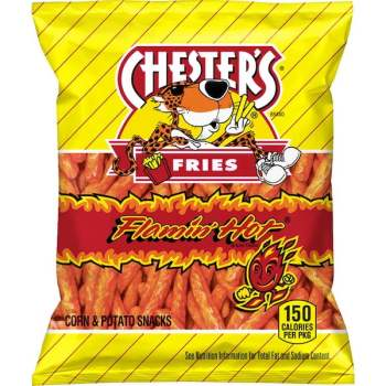 Chesters Flamin' Hot Fries Snacks, 49g