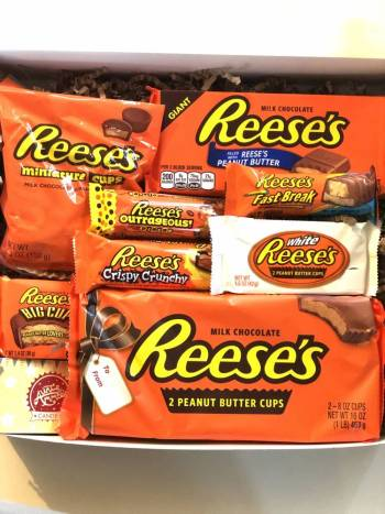 Reeses Peanut Butter Lover Chocolate Selection Gift Box From Auntie Ammies Candy Shop