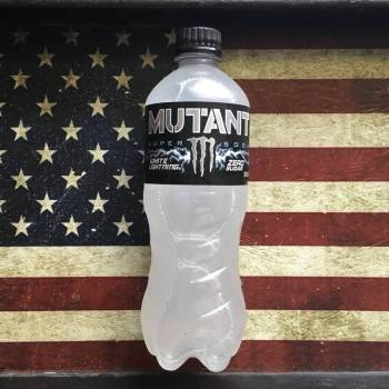 Monster Mutant Super Soda White Lightning Zero Sugar (591ml) From Auntie Ammie Candy Store