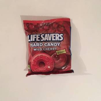 Lifesavers Hard Candy Wild Cherry Flavour 177g From Auntie Ammies Candy Shop