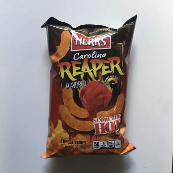 Herrs Carolina Reaper Flavoured Cheese Curls 183g