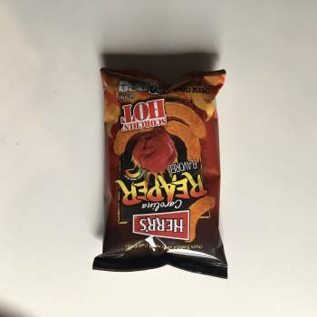 Herrs Carolina Reaper Flavoured Cheese Curls (28.4g) from Auntie Ammies american Candy Shop