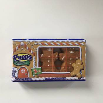 Peeps Marshmallow Gingerbread Men. From Auntie Ammies Candy shop