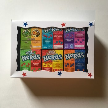 Nerds selection gift box from Auntie ammies American Candy Shop