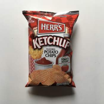 Herrs Ketchup Potato Chips (99.2g) from Auntie ammies American Candy Shop