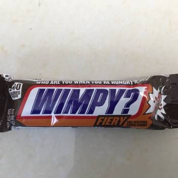 Snickers Fiery (51g) from auntie Ammies Candy Shop