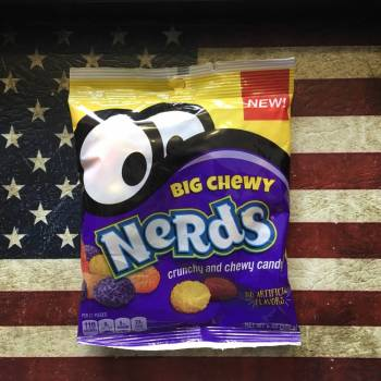 Nerds Big Chewy Peg Bag (170g) From Auntie armies Candy Shop