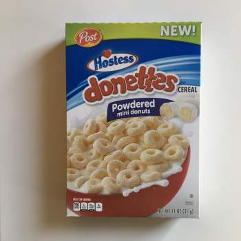 Hostess Donettes Cereal (311g) From Auntie Ammies American Candy Shop